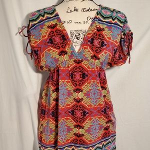 Urban Outfitters - Angie Tunic Top Size Small